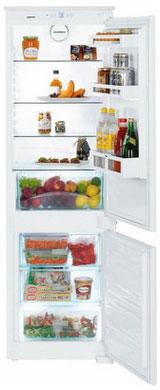 Встраиваемый двухкамерный холодильник Liebherr ICUS 3314
