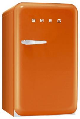 Однокамерный холодильник Smeg FAB 10 RO комбинированная плита smeg tr 4110 ro