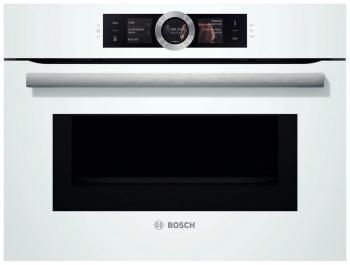 Встраиваемый электрический духовой шкаф Bosch CMG 636 BW1 встраиваемый электрический духовой шкаф bosch hbg 636 lb1