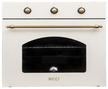 Встраиваемый газовый духовой шкаф Ricci RGO 620 BG grey floral print long sleeves casual sweatshirts