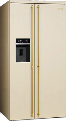 Холодильник Side by Side Smeg SBS 8004 P