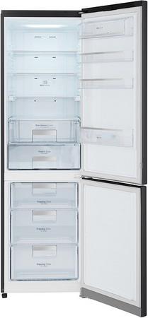 Двухкамерный холодильник LG GA-B 489 SBQZ холодильник с морозильной камерой lg ga b409uqda