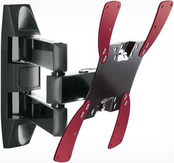 Кронштейн для телевизоров Holder LCDS-5066 черный глянец holder lcds 5026 металлик черный глянец