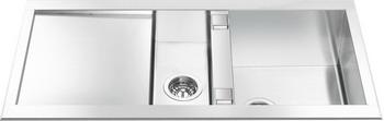 Кухонная мойка Smeg LQR 100-2 мойка lr102 smeg
