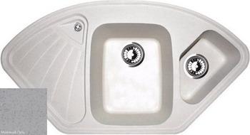 Кухонная мойка Zigmund amp Shtain ECKIG 1000.2 млечный путь кухонная мойка zigmund amp shtain eckig 800 черный базальт