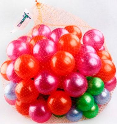 Набор игровой Нордпласт Пластмасовые шары для сухого бассейна диаметр 6 и 8 см 100 шт тачки 20 см 8 шт