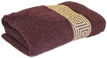 Полотенце PROFFI махровое Классик шоколадное