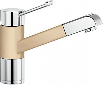 Кухонный смеситель BLANCO ZENOS-S хром/шампань  смеситель zenos s chrome alumetallic 517820 blanco