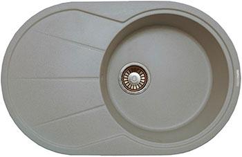 Кухонная мойка LAVA E.3 (SCANDIC серый) кухонная мойка lava a 2 scandic серый