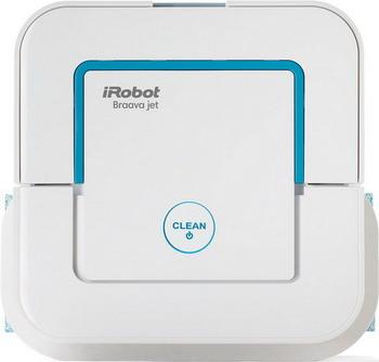 Робот-пылесос iRobot Braava Jet 240 white пылесос робот irobot braava 390t