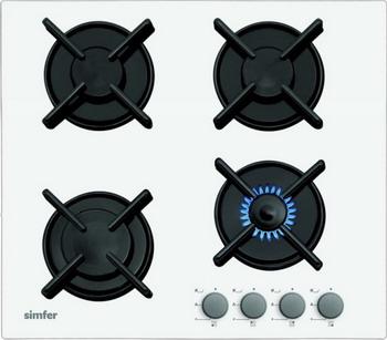 Встраиваемая газовая варочная панель Simfer H 60 N 40 W 412 встраиваемая газовая варочная панель simfer h 60 m 41 o 412
