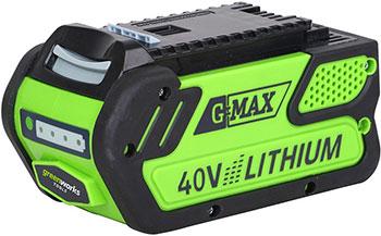 Литий-ионная аккумуляторная батарея Greenworks 40 V G-max G 40 B4 29727 литий ионная аккумуляторная батарея 40v g max greenworks g40b2
