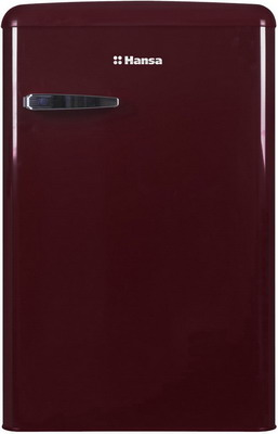 Однокамерный холодильник Hansa FM 1337.3 WAA винный красный радиоприемник perfeo егерь fm красный i120 red