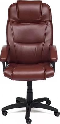 Кресло Tetchair BERGAMO (кож/зам коричневый 2 TONE) кресло tetchair baron кож зам коричневый коричневый перфорированный 2 tone 2 tone 06