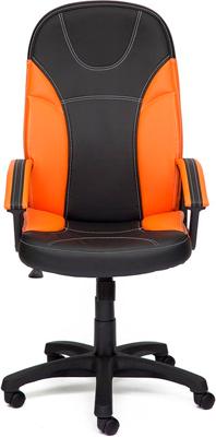 Кресло Tetchair TWISTER (кож/зам черный/оранжевый 36-6/14-43)