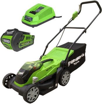 Колесная газонокосилка Greenworks G 40 LM 35 K3 2501907 UE