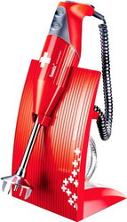Погружной блендер Bamix M 200 SwissLine Red