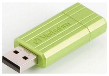 Флеш-накопитель Verbatim 16 Gb PinStripe 49070 USB2.0 зеленый pinstripe overall denim dress