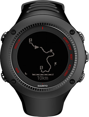 Часы SUUNTO AMBIT3 RUN BLACK HR