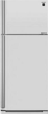 Двухкамерный холодильник Sharp SJ-XE 59 PMWH двухкамерный холодильник don r 297 b