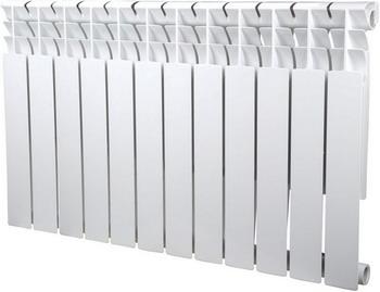 Водяной радиатор отопления SIRA Omega 80 H.500-12 алюминиевый радиатор sira rovall80 500 7 секций