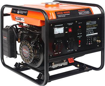 Электрический генератор и электростанция Patriot 474101620 MaxPower SRGE 4000 i генератор бензиновый инверторный patriot maxpower srge 4000i 474101620