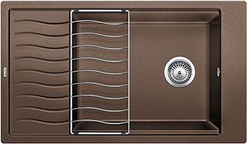 Кухонная мойка BLANCO ELON XL 8 S кофе мойка кухонная blanco elon xl 6 s шампань с клапаном автоматом 518741