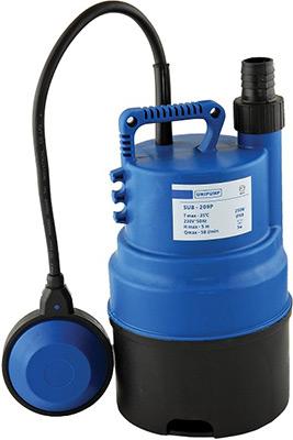 Насос Unipump SUB 209 P 77522 дренажный насос unipump sub 407 p