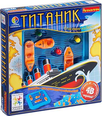 Логическая игра Bondibon Титаник ВВ0841 игра bondibon детектор лжи вв2110
