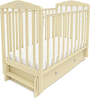 Детская кроватка Sweet Baby Eligio Avorio (Слоновая кость) 385 672 детская кроватка sweet baby delizia 5 в 1 avorio слоновая кость без маятника