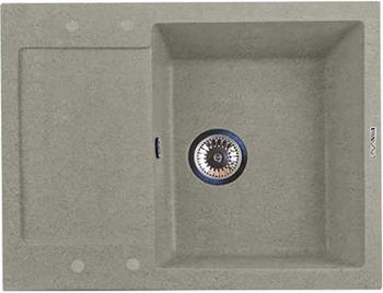 Кухонная мойка LAVA L.7 (SCANDIC серый) кухонная мойка lava q 1 scandic серый