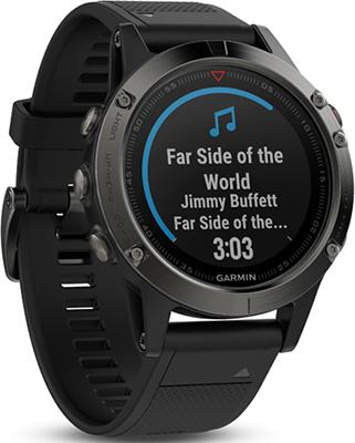 Спортивные часы Garmin fenix 5 Sapphire Black GPS (черный) garmin fenix 5 sapphire black black band