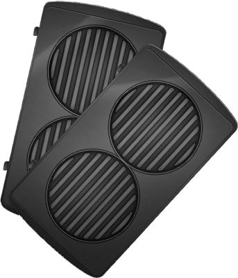Панель для мультипекаря Redmond RAMB-26 (Бургер) (Черный)