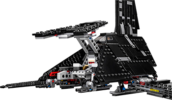 Конструктор Lego STAR WARS ''Иперский шаттл Креника'' 75156-L lepin 05049 star rogue wars one star fighters ship model building kit blocks bricks children toy gifts educational toys 75156