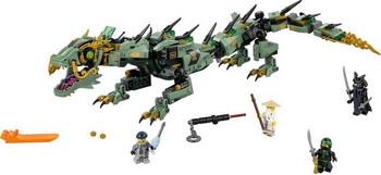 Конструктор Lego NINJAGO Механический Дракон Зелёного Ниндзя 70612 конструктор lego ninjago механический дракон зеленого ниндзя 70612