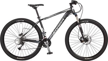 Велосипед Stinger 29'' Genesis HD 18'' черный 29 AHD.GENESHD.18 BK7