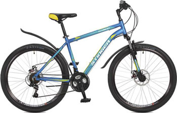 Велосипед Stinger 26'' Element D 20'' синий 26 AHD.ELEMD.20 BL7 велосипед stinger element d 26 2015