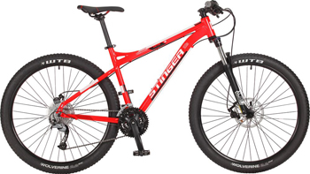 Велосипед Stinger 27.5'' Zeta D 18'' красный 27 AHD.ZETAD.18 RD7 велосипед stinger zeta d x43976 k 18 2015 grey orange
