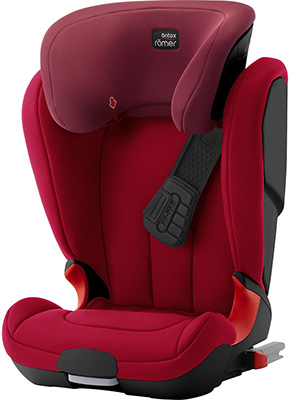 Автокресло Britax Roemer Kidfix XP Black Series Flame Red Trendline 2000027590 автокресло britax roemer baby safe flame red trendline 2000026518