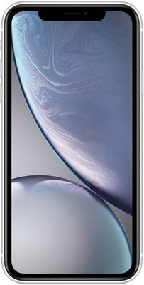 Смартфон Apple iPhone XR 64 GB белый (MRY 52 RU/A) телефон apple iphone 7 128gb a1778 черный матовый ru a