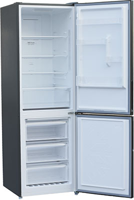 Двухкамерный холодильник Shivaki BMR-1851 DNFX холодильник shivaki bmr 2013dnfw двухкамерный белый