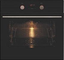 Встраиваемый электрический духовой шкаф Hansa BOES 68405 встраиваемый электрический духовой шкаф smeg sf 4120 mcn