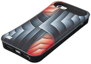 Чехол (клип-кейс) Promate Rash-i5 красная mooncase чехол для iphone 5g 5s флип pu кожаный бумажник складная подставка feature чехол обложка no a08