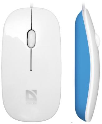 все цены на  Мышь Defender NetSprinter MM-440 white+blue 52443  онлайн