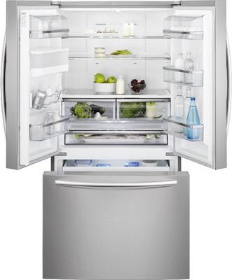 Двухкамерный холодильник Electrolux EN 6084 JOX French door двухкамерный холодильник don r 297 b