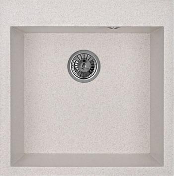Кухонная мойка Weissgauff QUADRO 505 Eco Granit светло-бежевый  weissgauff softline 780 eco granit светло бежевый