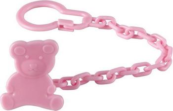 Держатель для пустышки Happy Baby UMKA 11006 Pink