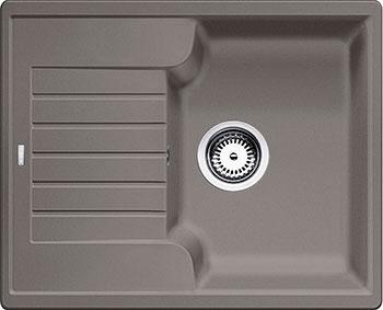 Кухонная мойка BLANCO ZIA 40 S SILGRANIT серый беж кухонная мойка blanco zia 9e silgranit серый беж