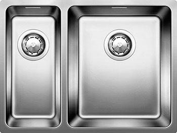 Кухонная мойка BLANCO ANDANO 340/180-IF нерж.сталь полированная без клапана-автомата чаша справа  мойка andano 340 180 if left 518324 blanco