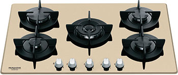 Встраиваемая газовая варочная панель Hotpoint-Ariston 751 DD W/HA(CH) плита газовая hotpoint ariston h5gg1f w